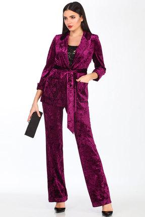 Комплект брючный Doggi 2668 фиолетовый