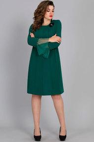 Платье Галеан Cтиль 671 зеленый