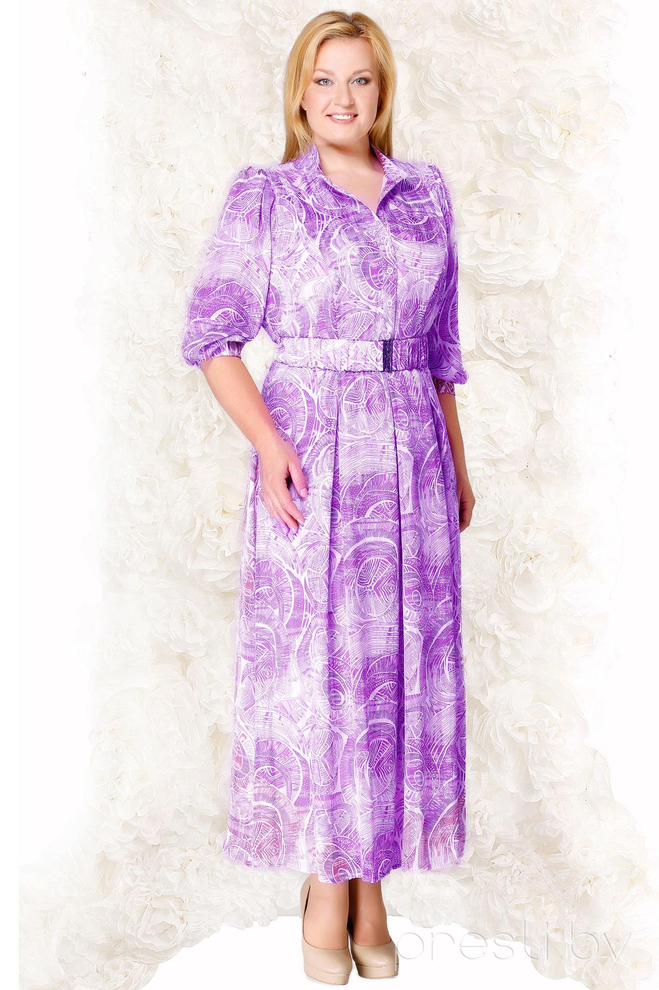 Платье Lady Secret 3138 фиолетовые тона