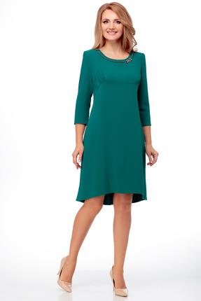 Платье Мишель стиль 821 изумруд
