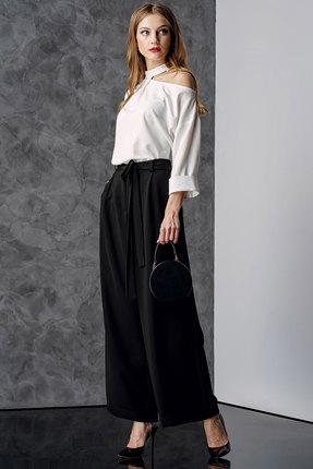 Комплект брючный Deesses 2015 черно-белый