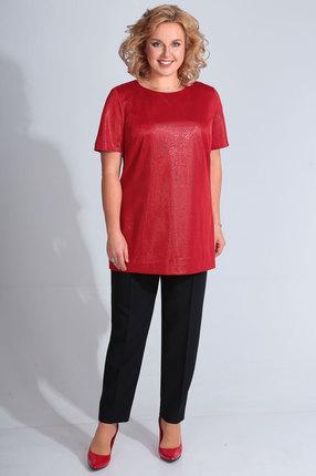 Комплект брючный Golden Valley 6429 красный с черым