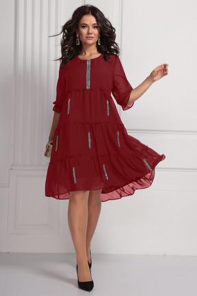Фото - Платье Solomeya Lux 608 красный красного цвета