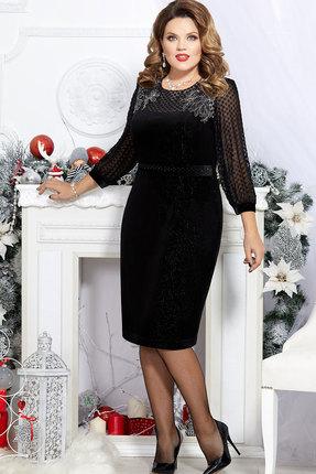 Платье Mira Fashion 4739 чёрный