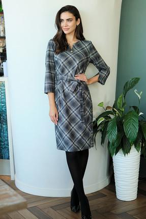Купить со скидкой Платье Фантазия Мод 3577 серые тона