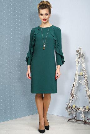 Платье Alani 1069 изумрудный