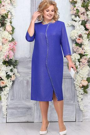 Платье Ninele 5742 василёк