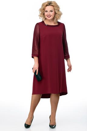 Платье Мишель стиль 825 бордо