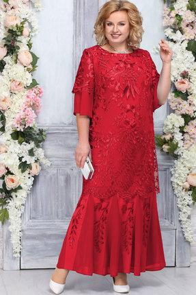 Платье Ninele 5747 красный