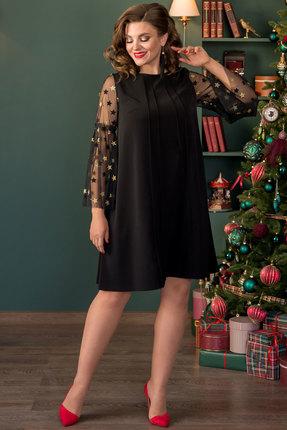 Платье Галеан Cтиль 733 черный