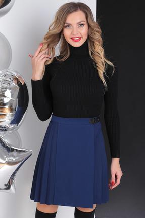 женская юбка sandyna, синяя