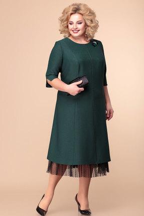 Платье Romanovich style 1-1918 зеленый