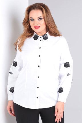женская блузка danaida, белая