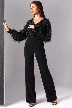 Комплект брючный Миа Мода 1099 черный