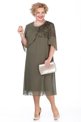 Платье Pretty 924 зеленый