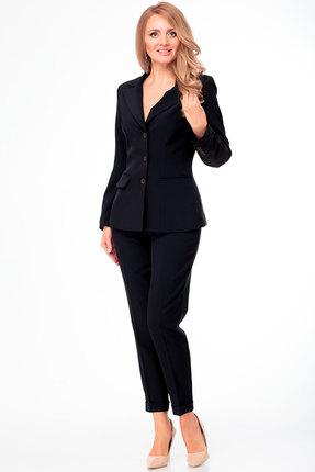 женский брючный костюм anelli, черный