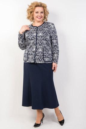 Комплект юбочный TricoTex Style 33-19 синий