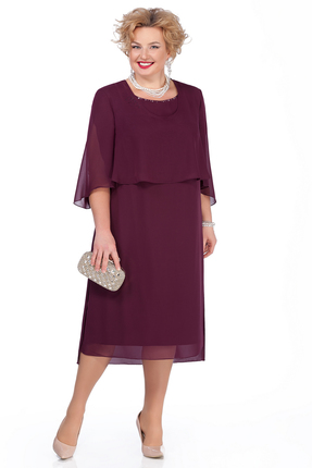 Платье Pretty 976 сиреневые тона