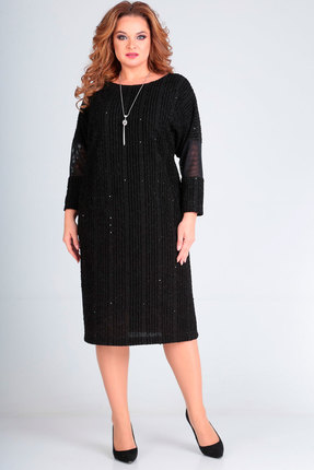 Платье Andrea Style 00235 черный
