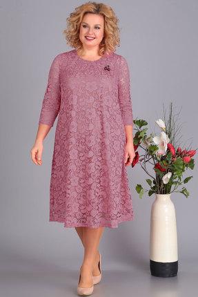 Платье Algranda 3378-2 сиреневые тона Новелла Шарм