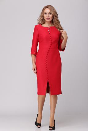 Платье Verita Moda 2032 красный