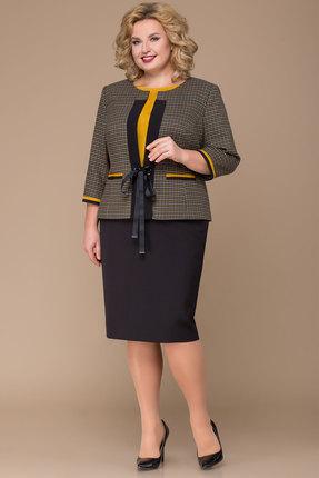 Комплект юбочный Elady 3351а серые тона с черным