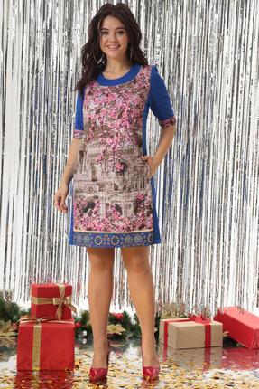 Платье Solomeya Lux 174N разноцвет