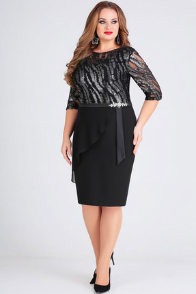 Платье Ксения Стиль 1731 черный