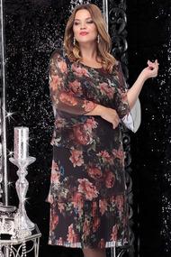 Платье LeNata 11834 цветы