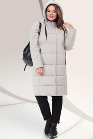 Пальто LeNata 11041 бежевые тона