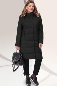 Пальто LeNata 11041 черный