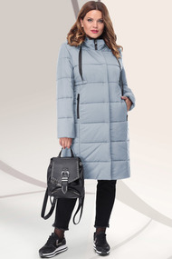 Пальто LeNata 11041 ментол