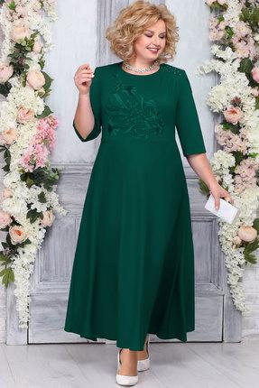 Платье Ninele 7263 изумруд