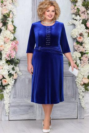 Платье Ninele 7265 василёк