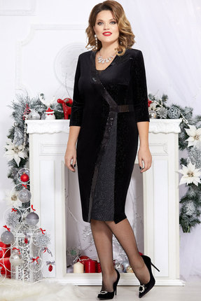 Платье Mira Fashion 4734 чёрный