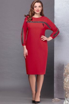 Платье Nadin-N 1739.1 красный