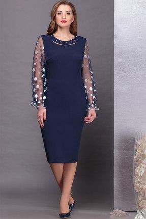Платье Nadin-N 1746 тёмно-синий