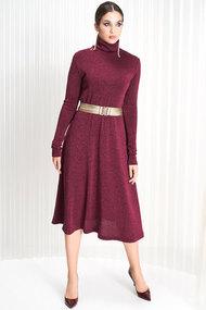 Платье ЛЮШе 2163 бордовый