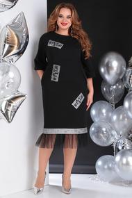 Платье SandyNa 13646 черный