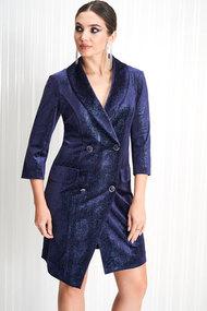 Платье ЛЮШе 2161 синий