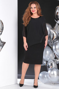 Платье SandyNa 13645 черный