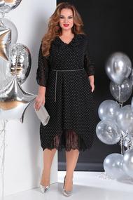 Платье SandyNa 13650 черный