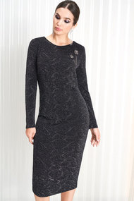Платье ЛЮШе 2157 черный