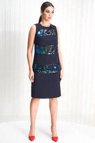 Платье ЛЮШе 2171 синий
