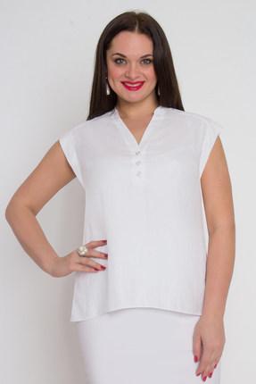 Блузка Дали 594 белый от PRESLI