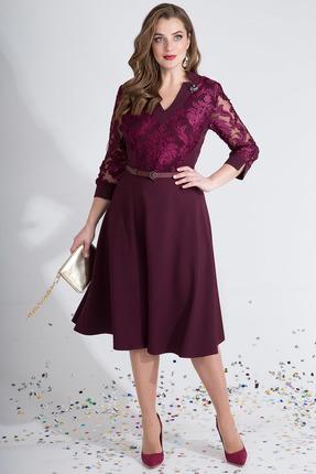 Платье Лилиана 783 винный