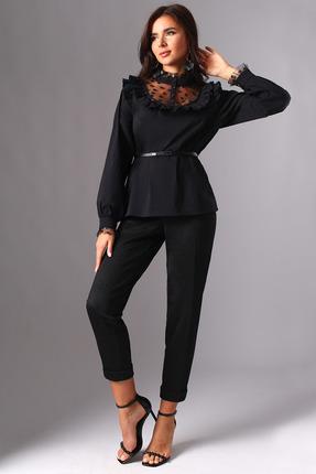 Комплект брючный Миа Мода 1115 черный