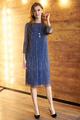 Платье Фантазия Мод 3621 синий, размер 48-54