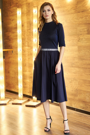 Платье Фантазия Мод 3564 синий