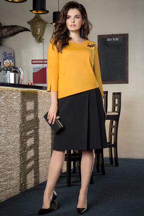 Комплект юбочный Elady 3421 желтый с черным